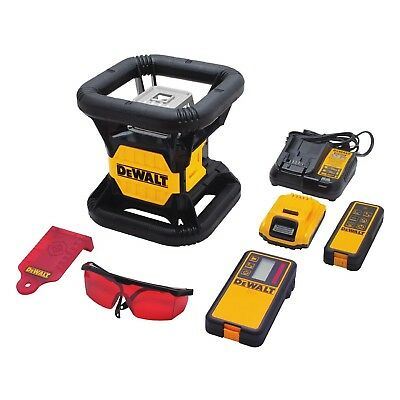 DeWalt - DW074LR 20 V MAX* 1500' Red Rotary Laser - Brand New with TSTAK Case
