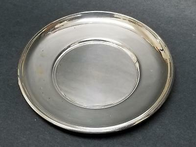 "4.5"" Gorham Sterling Silver Small Plate Butter Pat Dish Saucer 43g No Mono #922"