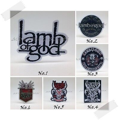 New Lamb of God Sticker Decal Vinyl Rock Band Logo Music Heavy Metal Car Window