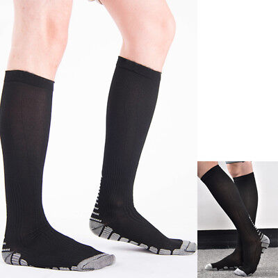 Sports Compression Socks Stockings Graduated Support Men's Women's Fit (S-XL)