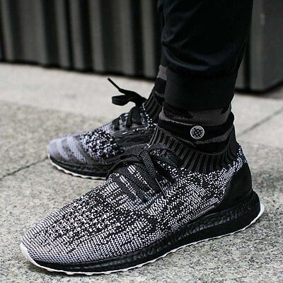 dad897f1ad7 Adidas Ultra Boost Uncaged Black White Grey Size 11.5. S80698 nmd pk yeezy