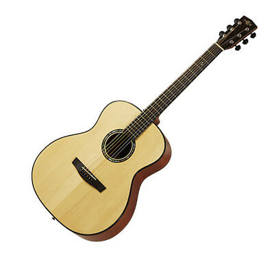 HEX Queen F16 All Solid Wood 1pc Neck Ebony Orchestra Body Acoustic Guitar