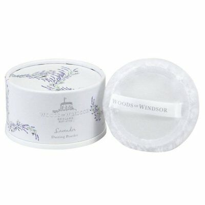 Woods of Windsor Body Dusting Powder with Puff for Women, Lavender, 3.5 Ounce Ho