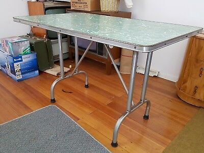Retro Laminex Dining Table and Chairs