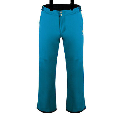 Mens Titan Blue Dare2b CERTIFY Stretch Ski Salopettes Pants S - XL
