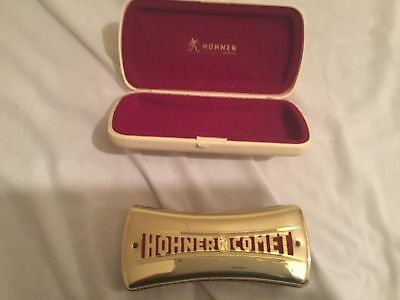 Hohner Comet Double Sided Harmonica (Keys of C and G)