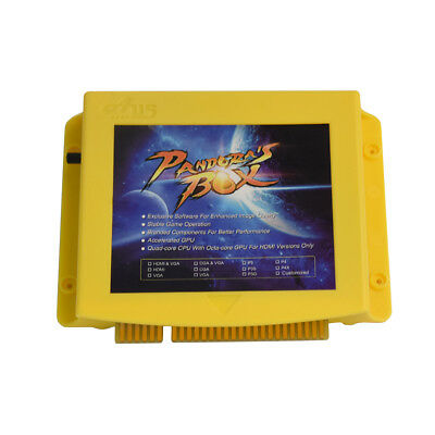 Pandoras Box 5S 999 Spiele Arcade Video Konsole Jamm Board Englische Version