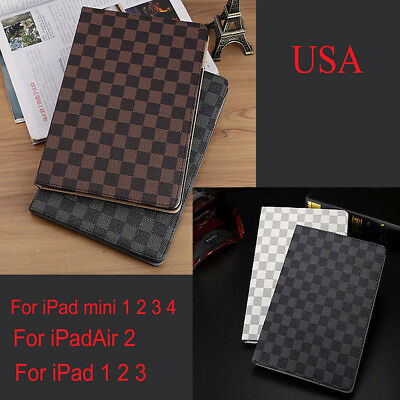Case Smart Cover for Apple iPad Air 2 2/3/4 Pro Folio Magnetic PU Leather Stand
