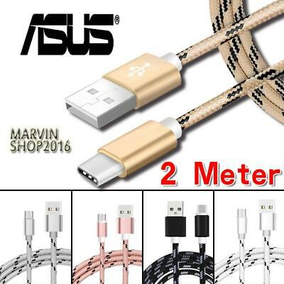 0.5M-3M Type C USB Charging Data Sync Cable For For Asus ZenFone 3 ZE520KL