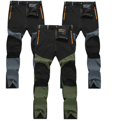 US Stock Casual Mens Outdoor Sports Snowboard Pants Waterproof Hiking Trousers