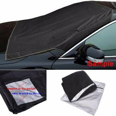 Car Truck Van SUV Magnet Windshield Cover Sun Shield Snow Frost Freeze Protector