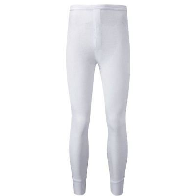 New Thermal White Long Johns Extra Large Underwear Warm Winter Cold Comfort Heat