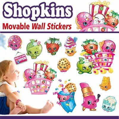 Personalized Shopkins Movable Wall Sticker