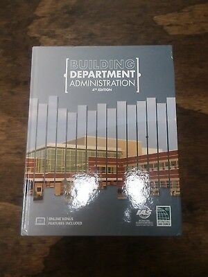 New Icc Building Department Administration 4Th Fourth Edition Icc Hardcover Book