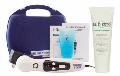 US Pro 2000 2nd Edition Portable Ultrasound Unit + FREE 3 oz - Roll-on BIOFREEZE