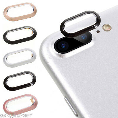 For iPhone X XS MAX XR 7 8 Plus Rear Back Camera Protector Lens Case Ring Cover