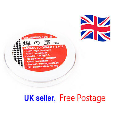 50g Rosin Soldering Flux Paste Solder High Intensity Welding Grease UK Seller