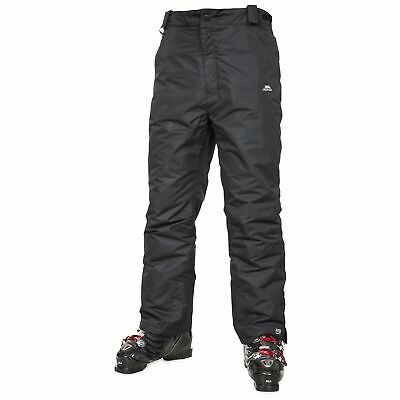 Trespass Toledo Mens Ski Trousers Waterproof Salopettes with Taped Seams