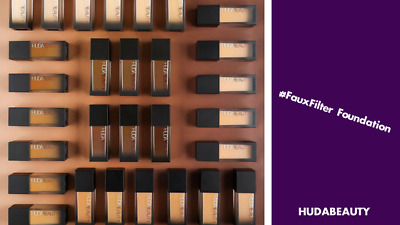 Huda Foundation #fauxfilter Sample Many Colours, 100% Genuine Beauty All Shades