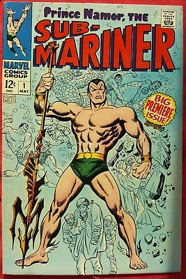Sub Mariner 1 Marvel Silver Age 1968 Big Premiere Issue High Grade