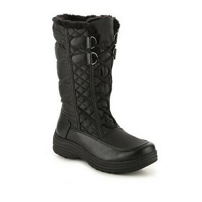 NEW Womens Totes Corina Snow Boots Black Waterproof - Choose Size!