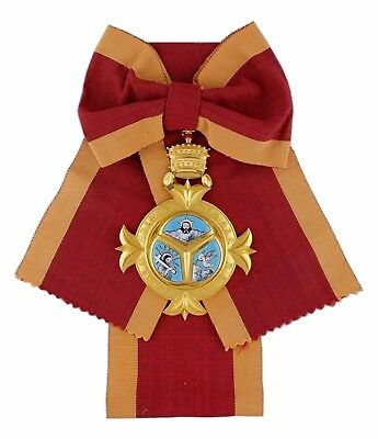 ETHIOPIAN ORDER HOLY TRINITY GRAND CROSS/CORDON/RIBBON/SASH (2m RIBBON ONLY)