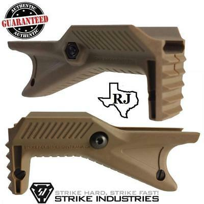Strike Industries Cobra Tactical Fore Grip Angled Rail  Foregrip FDE 5.56/223