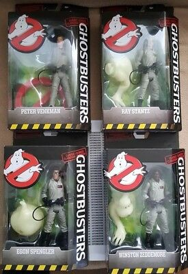 "*BRAND NEW* Ghostbusters Classic 6"" Figures Complete Set of 4, 2016 MATTEL"