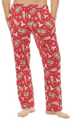 Adult Unisex Christmas Vacation Shitter's Full Red Lounge Pants