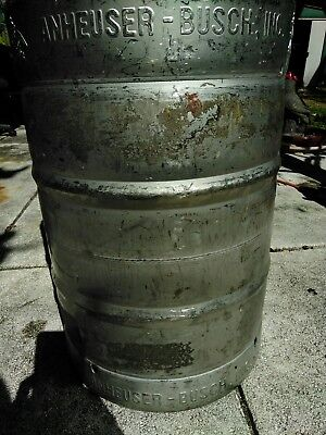 Anheuser Busch 15.5 Gallon SS Beer Keg Still Kettle Home Brew FREE SHIPPING