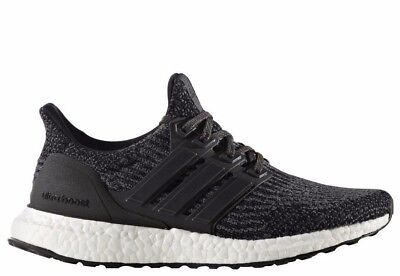 New Kid's Adidas Ultra Boost 3.0 - BY2072 - Core Black Running Sneaker