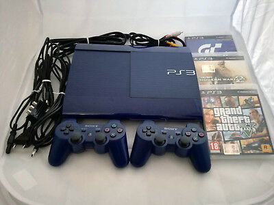 *LIMITED EDITION* PlayStation3 PS3 SUPERSLIM 500gb [+Gta CallOfDuty GranTurismo]