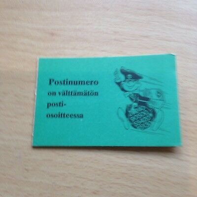 Rare Postinumero Book of Finland Stamps 1974 - Mint- See pictures!!