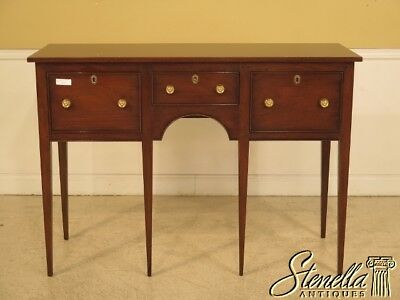 26380: KITTINGER Colonial Williamsburg 3 Drawer Huntboard Sideboard