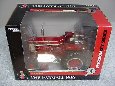 Ertl 1/16 Farmall Ih International Harvester 806 Precision Key #4 Tractor