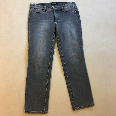 ded6d423f26 Talbots Grey Flawless Five Pocket Slim Ankle Womens Jeans Size 2P Petite