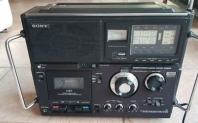 Sony 5Band Cassette-Corder CF-950S Weltempfenger.