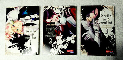 Devils and Realist Band 1-3, Manga Carlsen, Mystery