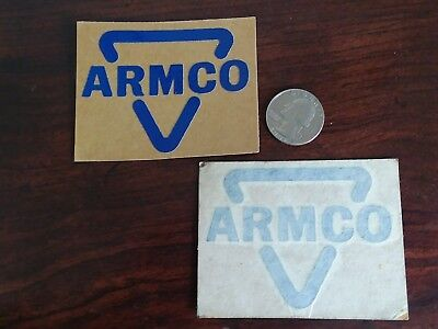 Coal Mining Hard Hat Stickers 2 Old Armco