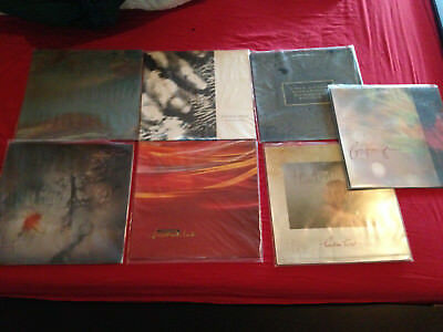 "Lot exceptionnel de vinyles Cocteau Twins job lot 6 12"" + 1 LP 4AD"