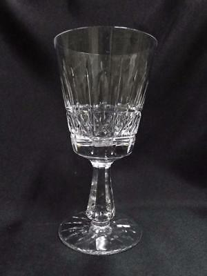 """Waterford Crystal Kylemore, Vertical & X Cuts: Water Goblet (s), 6 7/8"""", Flaw"""
