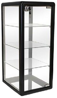 Only Hangers Glass Countertop Display Case- Black