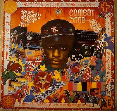 LP Prince Charles and the city beat band Combat zone 1984 Vinyl Funk Black Music