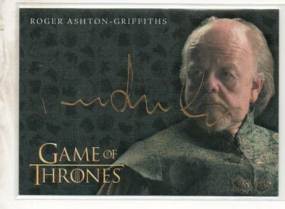 2017 Game Of Thrones Valyrian Steel Autograph Ashton-Griffiths As Mace Tyrell