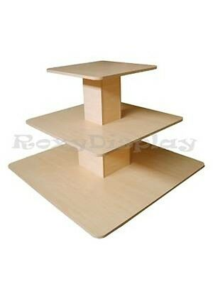 CA LOCAL PICKUP 3Tier Table Maple color Clothes Display Stands #RK-3TIER48M