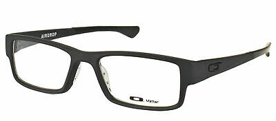 Oakley Airdrop OX8046-0153 Satin Black Plastic Sport Eyeglasses 53mm
