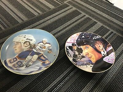 Wayne Gretzky Plate Lot Of 2