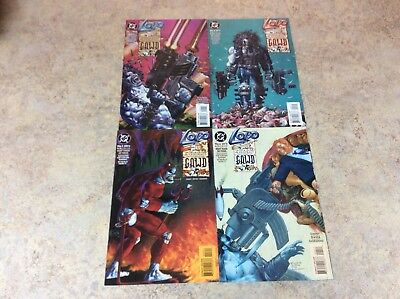 Lobo A Contract On Gawd #1,2,3,4 Of 4 Lot Of 4 Comic Nm 1994 Dc