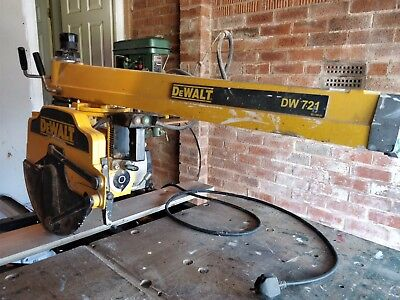 Dewalt DW 721 Radial Arm/Crosscut Saw