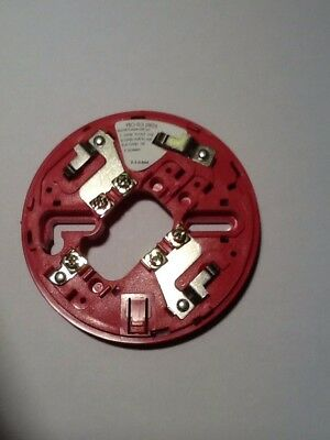 Hochiki Mounting Base Ybo-R/3(Red) For Chq-Ws2.  X 5
